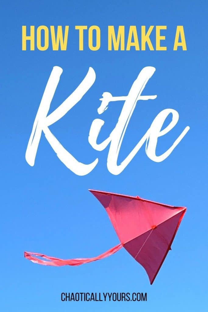 how to make title with a kite picture below it