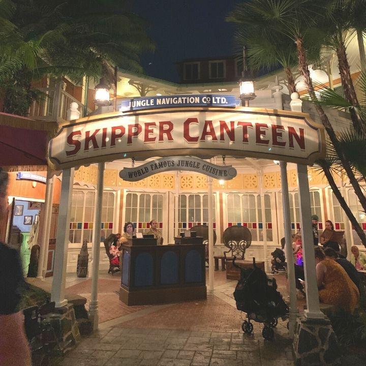 Skipper Canteen at The Magic Kingdom