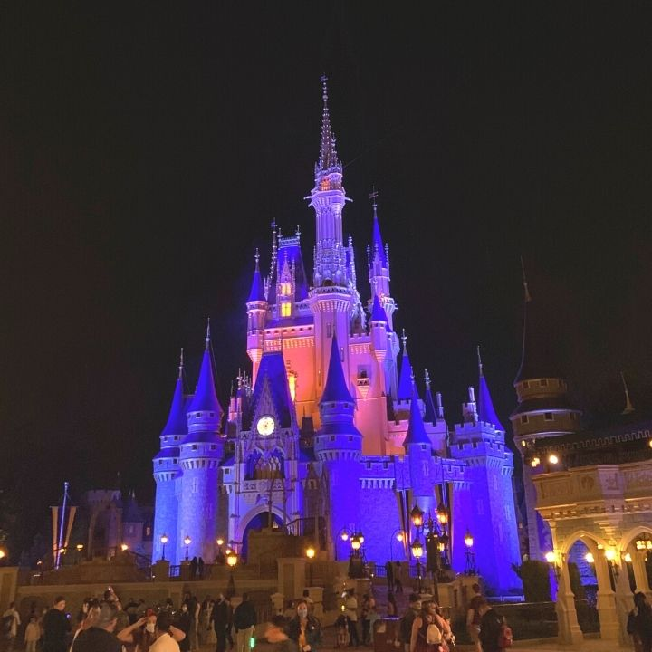 Nighttime at the Magic Kingdom
