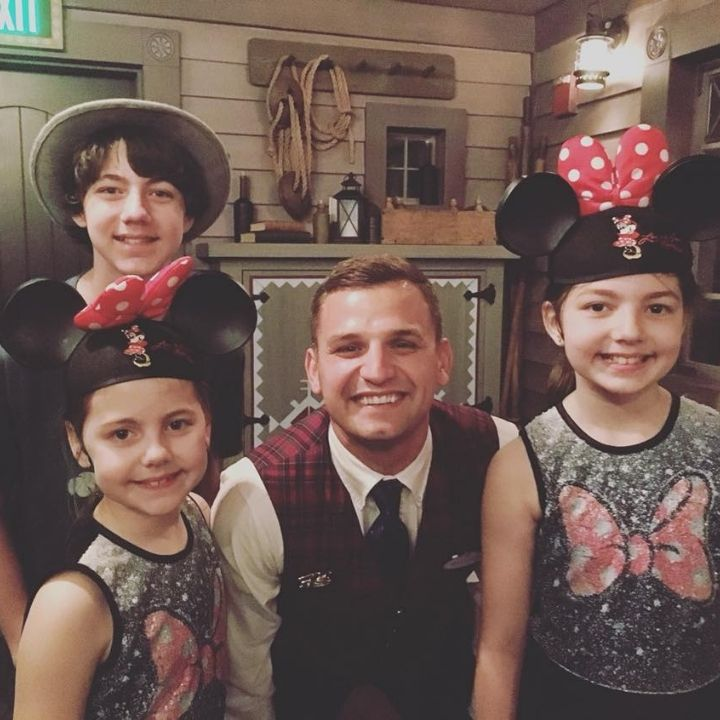 kids with a Disney VIP Tour Guide