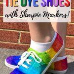 Tie Dye Shoes pin image