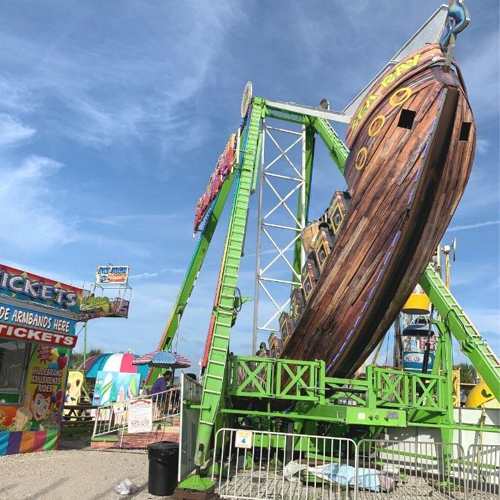 Amusements at the Boardwalk at Carolina Beach