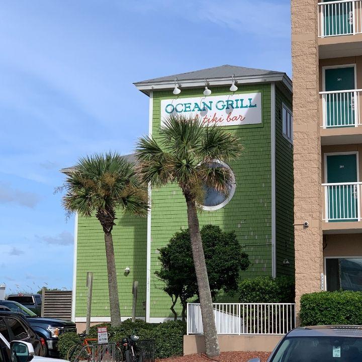 Ocean Grill and Tiki Bar in Carolina Beach