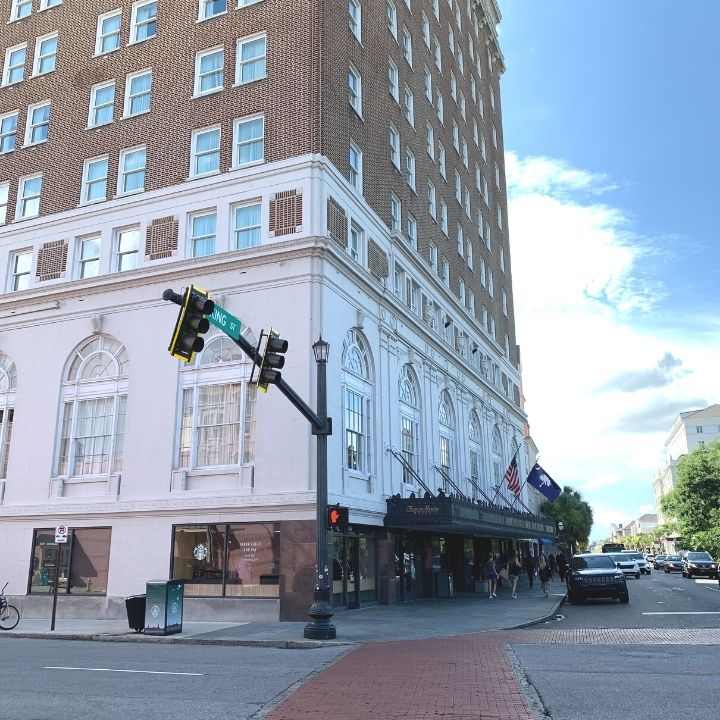 The Francis Marion Hotel in Charleston, SC