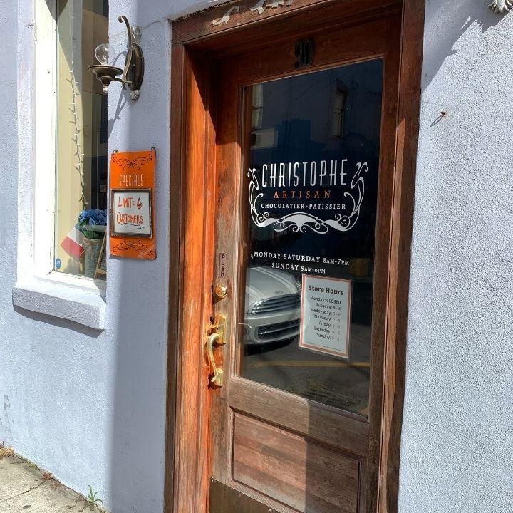 Christophe Artisan Chocolate in Charleston, SC