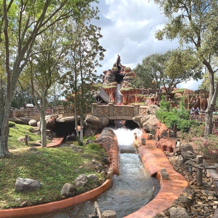 Splash Mountain at Disney World