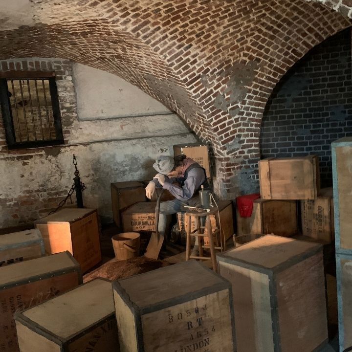 Inside the Historic Provost Dungeon in Charleston, SC